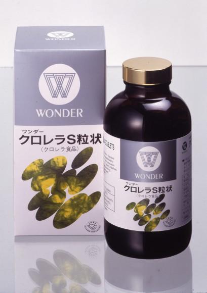 WOクロレラS粒状ビン・商品